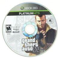 Grand Theft Auto IV GTA 4 Microsoft Xbox 360 X360 Game Only
