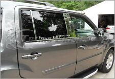 2009-2015 Honda Pilot 6Pc Chrome Pillar Post Stainless Steel