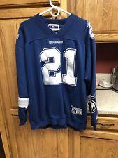 Dallas Cowboys Vintage Starter Deion Sanders #21 NFL Jersey Sweatshirt Sz XL