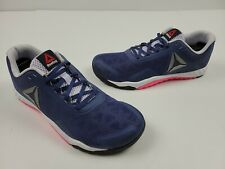 Reebok ROS Workout TR 2.0 Womens Athletic Shoes Size 11 Blue Pink White AR2981