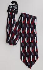Ketch Caribbean Tie gras Géométrique Motif Carreaux Fabriqué en république dominicaine NEUF