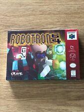 Robotron 64 Nintendo 64 N64 New Factory Sealed OOP Crave Entertainment