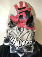 FIVE FINGER DEATH PUNCH LATEX FFDP MASK FULL HEAD WAR FANCY DRESS METAL MASKS