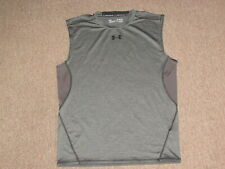Under Armour Boys Kids Compression Base Layer Tank Top Athletic Sports Shirt XL