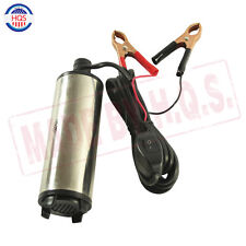 Quality 12V DC Electric Submersible Transfer Pump Fuel Diesel Water Oil 30L/MIN