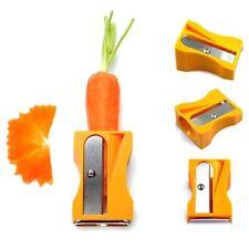 Spitzer Deko Karotten Schäler für Obst und Gemüse Anspitzer Neu