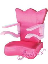 """Clip On Chair fits 18"""" American Girl Dolls baby seat high chair 15"""" Bitty"""