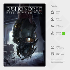 Dishonored: Definitive Edition (PC) - Steam Key [GLOBAL, INSTANT]