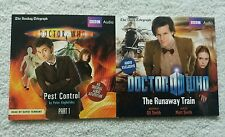 DR WHO - The Runaway Train/Pest Control Part 1 - 2x CDs - Telegraph Promo AUDIO