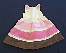 NWT GYMBOREE Special Occasion Ivory Bow Silk Dress Girls Toodler 3