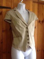 H&M Button V Neck Waistcoats for Women