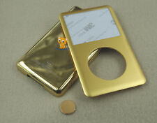 Gold Front Faceplate Back Housing Case Cover Button for iPod 6th Classic 80GB