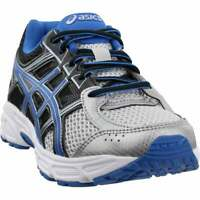 ASICS Contend 4 Grade School Wide (Big Kid)  Casual Running  Shoes Silver Boys -