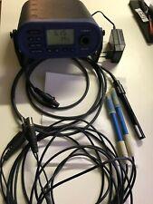 WTW multi 197i ph, conductivity, oxygen meter.