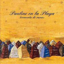 CD PAULINE EN LA PLAYA TORMENTA DE RANAS VAINICA DOBLE