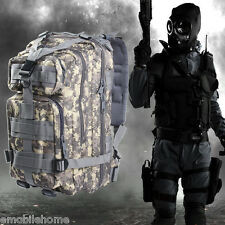 3P Military Tactical 30L Backpack for Camping Traveling Hiking Trekking