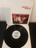 """Duran Duran – Duran Duran Self Titled Vinyl 12"""" LP + Inner EMC 3372 1981"""