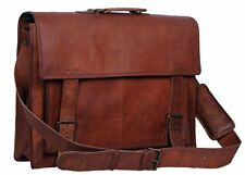 Leather Vintage Brown Messenger Shoulder Laptop Bag Briefcase Sale For Men