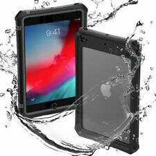 For iPad Mini 4/5 IP68 Waterproof Diving Case Cover /w Built-in Screen Protector