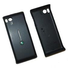 Sony Ericsson Aino U10 U10i Cellphone Standard Battery Door Back Cover Black OEM