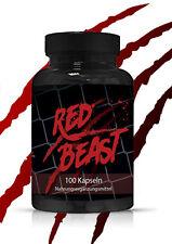 Rojo Beast - Testo Booster - Rápido Musculación Extrem Anabólico - Testosterona