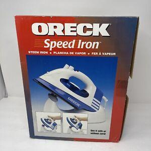 "ORECK ""SPEED IRON XL"" 1350 WATTS CORDLESS STEAM IRON"
