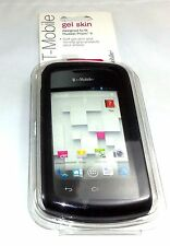T-MOBILE gel skin for Huawei Prism II (Black) - New + Free shipping