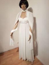 Ärmellose Normalgröße Brautkleider aus Polyester
