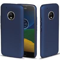 Motorola Moto E4 Hülle Tasche Case Cover Handy Backcover Handyhülle in Blau