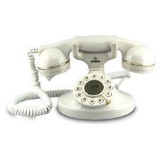 Brondi - Vintage 10 - Téléphone fixe -blanc