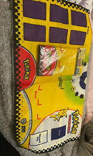 More details for pokemon trading card game tcg 2 player cloth play mat 1999 x2 one is factory sel