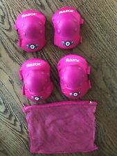 Razor Multi Sport Elbow And Knee Pads Pink Youth Ages 8+