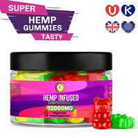 PREMIUM HEMP GUMMIES | 40 BEARS | 12000 mg  | High Strength | UK Made