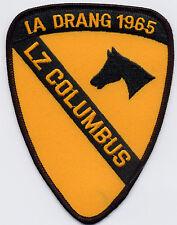 1st Cav IA Drang 1965 - LZ Columbus BC Patch Cat. No. C5786