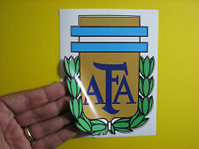 BEST PRICE!! LOT OF 10 SOCCER DECAL STICKER AFA  ARGENTINA 4.5 X 6