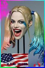 "1/6 Suicide Squad Harley Quinn Head Sculpt For 12"" Female Figure ❶USA❶ PRE-ORDER"