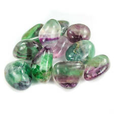 Rainbow Fluorite (3 Pcs) Tumbled Polished (BR29) Healing Crystals and Stones