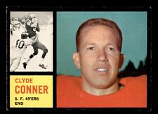CLYDE CONNOR 1962 TOPPS 1962 NO 156 EXMINT+ 21772