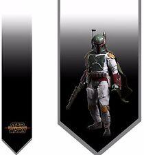L@@K! Boba Fett Necktie - The Force Darth Vader Star Wars