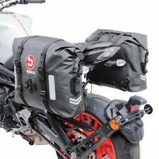 Motorrad Satteltaschen Wasserdicht Bagtecs WP8 2x30L Rollverschluss gebraucht
