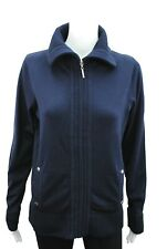 Womens Debenhams Zip Up Cardigan Navy Plus Size 10 12 14 16 18 20 22