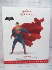 Hallmark 2016 Superman Ornament Batman Dawn of Justice