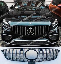 AMG GT Panamericana grille,Mercedes w166 SUV 2105+,GLE 53 sport look,250D,350D