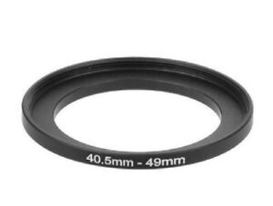 40.5-49mm Metal Step Up Ring Lens Adapter 40.5 Male to 49 Female Thread UK STOCK