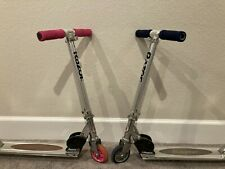 Razor A Kick Scooter - Set of 2 (Pink and Blue)
