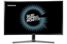 Samsung 32 Curved QHD Gaming Monitor HDR Game Mode Qled Desktop 144Hz Refresh