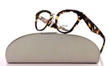 New Authentic PRADA ORNATE Havana Amaranth Eyeglasses Frame 0PR 26SV VHC-1O1