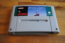 Jeu MYSTIC QUEST LEGEND pour Super Nintendo SNES version PAL