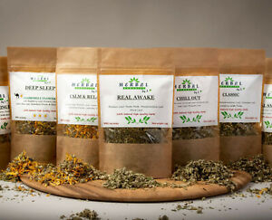 Herbal Blend/Smoking Tea Infusion/CALM&RELAX/CHILL OUT