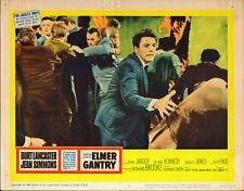ELMER GANTRY 11x14 BURT LANCASTER original 1960 lobby card movie poster